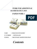 Paper work - Add Math 2010/4