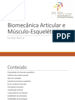 3 Biomecânica Articular e Músculo Esquelética 16 17