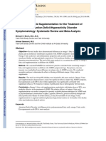 Bloch, Qawasmi - 2011 - Omega-3 Fatty Acid Supplementation for the Treatment of Children With Attention-Defic