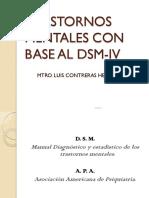 Trastornos Mentales en Base Al DSM IV