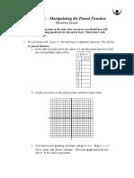05 quadratics - graphing the parent function  1