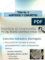 5. Mortero y Concretos
