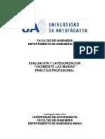Informa de Practica Las Marias