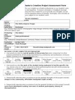 professional evaluator form alyssa