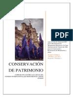 Analisis Comparativo Cartas ICOMOS