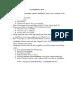 Cara Pendaftaran BPJS