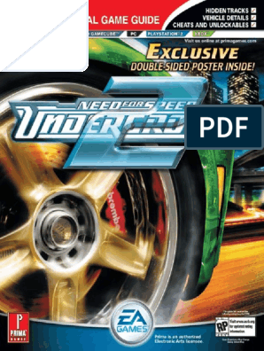 Need For Speed Underground 2 Prima Official Guide Automatic