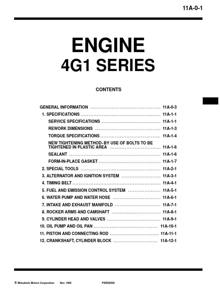 Motor 4g15 Pdf