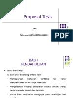 Penulisan Proposal Tesis-RAHMA
