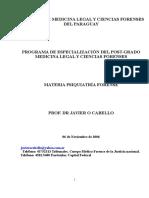 Psiquiatría Forense paraguayl.