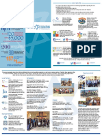 Federation's New Marketing Materials (Quadfold)