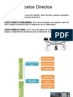 Costos Directos-Exposición