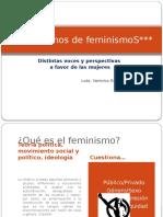 Hablemos de Feminism Os