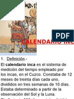 calendario según guaman poma