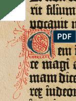 online store da132 5e7c6 Bíblia de Gutemberg 1454 Letra C Iluminura