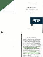 Sartori. 1992. Qué es política1-12