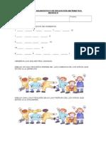 Prueba de Diagnostico de Educacion Matematica Basico 8