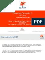 Puntuación e interpretación MMPI