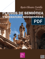 Olivares Zorrilla, R - Pliegos semiotica literatura novohispana.pdf