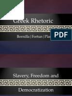 Greek Rhetoric