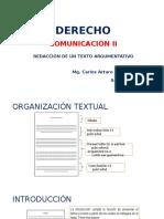 1B CII Redacción de Un Texto Argumentativo ULASALLE 2017-1