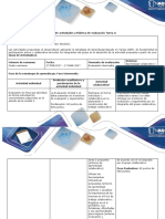 Guía de Actividades y Rubrica de Evaluación - Tarea 3