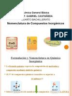 Formulacion Inorganica colegio verapaz, prof castañeda