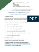 2. Documentos Constituir Su Empresa