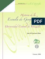 Historia Escuela de Geografia