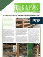 PEFC UK Newsletter July 2010, Issue 18