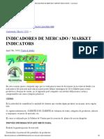Idrop Sizendicadores de Mercado _ Market Indicators — Ajchacon