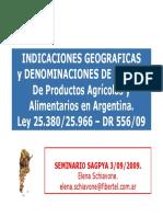 I. G. - D.O. Argentina Gastronomia