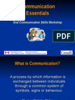 1-5 Oral Communication Overview