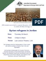 DFAT 2017 Flyer RefugeesJordan