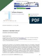 Estudios Filológicos - Literatura e Identidad Cultural