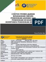 Contoh Pengajaran Berasaskan Inkuiri KSSR PJPK (Komponen PK - Tahun 1)