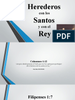 Herederos con los Santos y con el Rey 17 de Julio de 2016.pptx