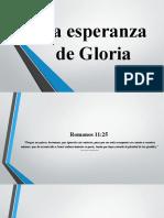 La Esperanza de Gloria