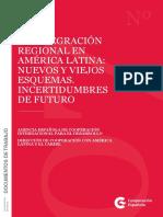 LA INTEGRACIÓN REGIONAL EN AMÉRICA LATINA