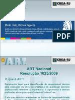 Apresentação Palestra ART Para Profissionais Set2014