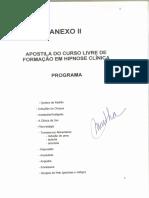 Apostila Curso Livre Formaç_o Hipnose Clínica A0001