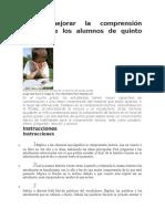 Cómo mejorar la comprensión lectora de los alumnos de quinto grado.docx
