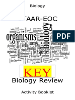 Biology Review Activity Booklet - Teacher 2014-15 - KEY