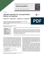 Xu Cathode Materialsfornextgeneration
