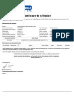 Certifica Do Cot i Zante 20170204