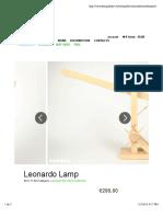 Leonardo Lamp