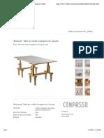 """""""Bramante"""" Table by Achille Castiglioni for Zanotta at 1stdibs"""