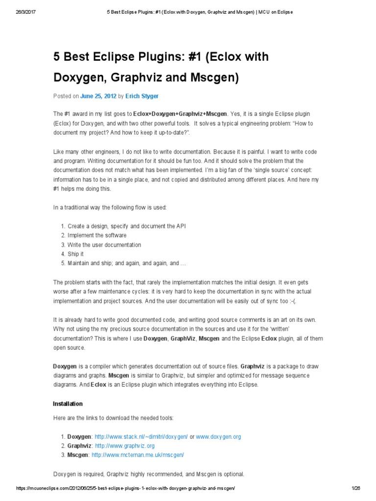 5 best eclipse plugins 1 eclox with doxygen graphviz and mscgen 5 best eclipse plugins 1 eclox with doxygen graphviz and mscgen mcu on eclipse ccuart Images