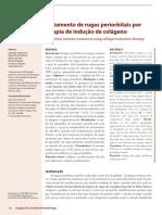 Tratamento de Rugas Periorbitais Por Terapia de Inducao de Colageno
