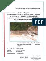 Estudio Geotecnico de Una Edificacion TAMBO SILLANGATE